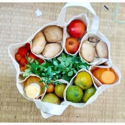 Cotton Vegetable Partition Bags