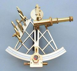 Nautical Sextant with Compass