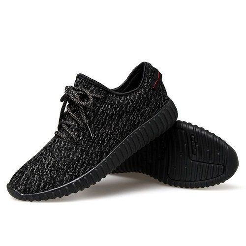 Running Shoe Mens Black Sports Shoes, Rs 490 /piece ...