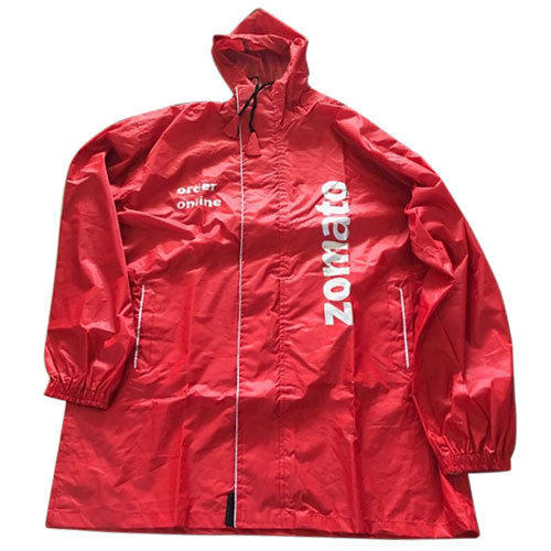 03437626a Red Rain Coat, Rs 450 /piece, Plus Public Media | ID: 20169360873