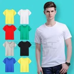 200 GSM Boiwash Premium  Cotton Corporate  T Shirt