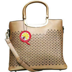 mariQuita Satchel Gold Bag