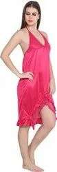 Short Length Satin Ladies Night wear, Size: Free, Article Number: S-13