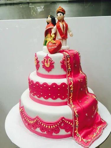 Indian Wedding Cake At Rs 1700 Kilogram Shaadi Ka Cake