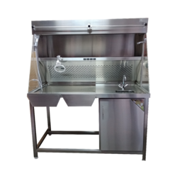 Grossing Table complete Stainless Steel with Exhaust