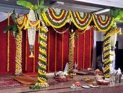 Modern Wooden Wedding Mandap Service Pan India