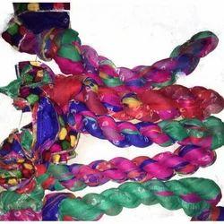 GP-D234 Chiffon Multi Color Lace Light Dupatta