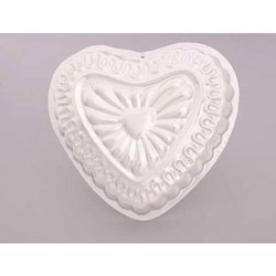 Decorated Heart Medium Cake / Jelly Pans