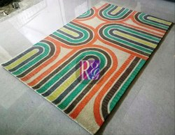 Geometric Design Wool Carpet
