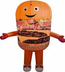 Burger Walking Inflatable
