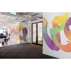 Rectangle Acrylic Vinyl Wall Graphic