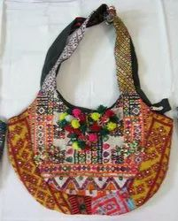 Embroidery Work Ladies Shoulder Bag