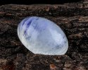 12Cts Blue Rainbow Oval Moonstone Cabochon