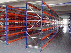 Mild Steel Heavy Duty Shelving Racks, Usage: Supermarket, Warehouse, Hospital