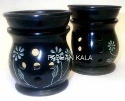 Black Soapstone Aroma Oil Burners
