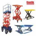 Hydraulic Scissor Lift, Capacity: 500 - 800 Kg