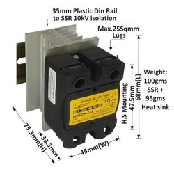 40 Amp DC To AC Solid State Relay