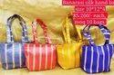 Banarasi Silk Hand Bag