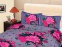Floral Double Cotton Bed Sheet