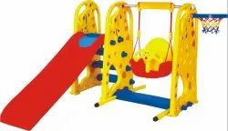 Happy Slide with Swing / Nursery Play Equipment / Plastic Playground Equipment