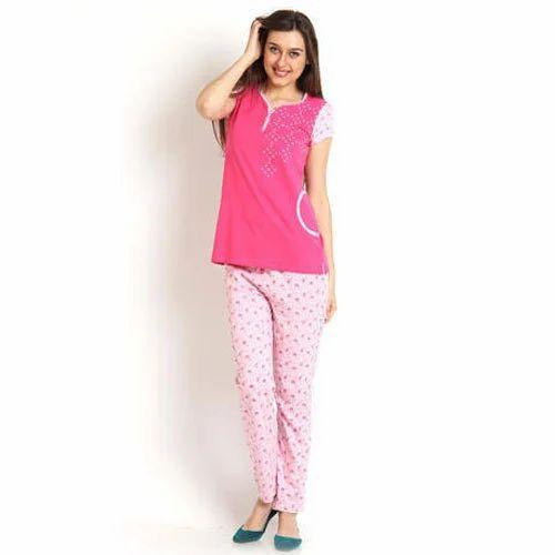 Ladies Pajama Set - Ladies Casual Pajama Set Manufacturer from Tiruppur 586518681