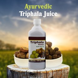 Natural Healthy Digestion Support Herbal Juice - Triphala Juice 500 ml, Pack Type: Pet Bottle