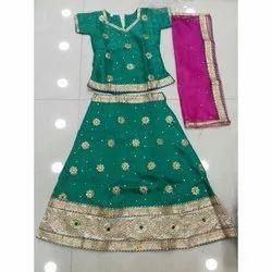 Kids Lehenga Designs Kids Lehenga Online Indian Lehenga Children Lehenga क ड स लह ग Chandrika Designs Hyderabad Id 8786414030