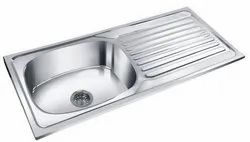 41x 20x 8 Stainless Steel Drain Board Kitchen Sink