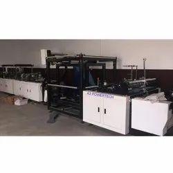 Latest Online D Cut Bag Making Machine