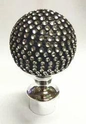 Ball Finial Black Diamond 1206