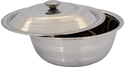 Round Stainless Steel Serving Bowls
