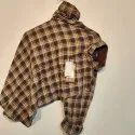 Regular Wear Mens Trendy Cotton Check Shirt, Machine Wash, Hand Wash