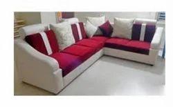 Red Color Sofa Set
