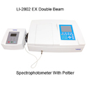 Lasany Non Portable Li-2802 Ex Double Beam Spectrophotometer With Peltier