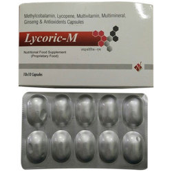 Lycopene with Methylcobalamin Multivitamin Capsule