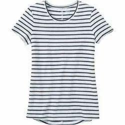 Cotton Casual Wear Kids Round Neck T Shirt