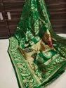 Non Branded 6.3 M (with Blouse Piece) Paithani Saree