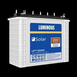 Luminous LPTT12100H Solar 100 Ah Tall Tubular Battery