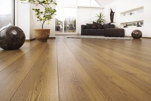 And Fiberboard Laminate Wooden Flooring 8mm And 12mm Rs 100