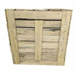 Light Brown Wooden Pallet Box, For Packaging