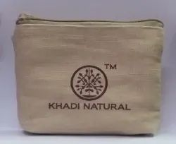 Jute Cotton Pouch
