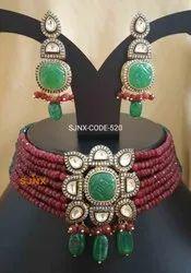 Anniversary Designer Artificial Necklace Set