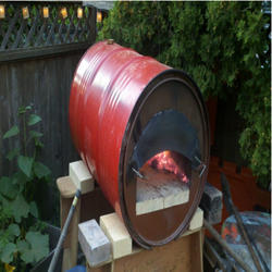 Barrel Decantation Oven