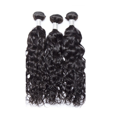Indian Wavy Human Hair Weave