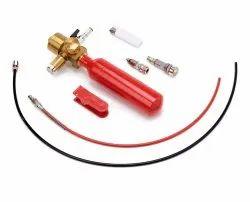 End of Line Adaptor with Pressure Gauge & NRV