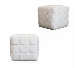 11110 Puffy Square Stool
