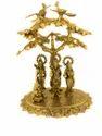 Gold Plated Ram Darbar Statue