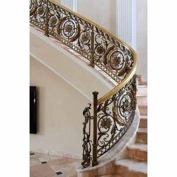 Panel Stainless Steel Designer Stairs Railing