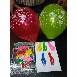 Heart Printed Balloon
