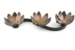 Decorative Lotus Shape Candle T- Light Home Decor